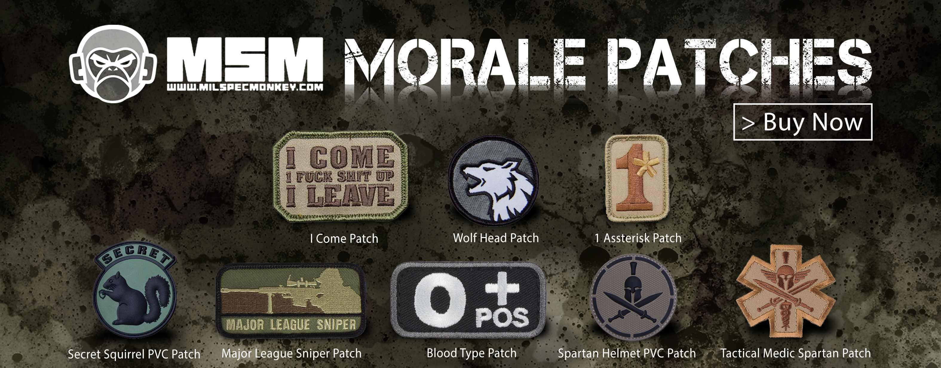 Mil-Spec Monkey Patches