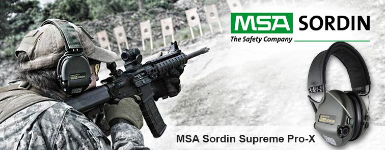 MSA Sordin Supreme Pro-X