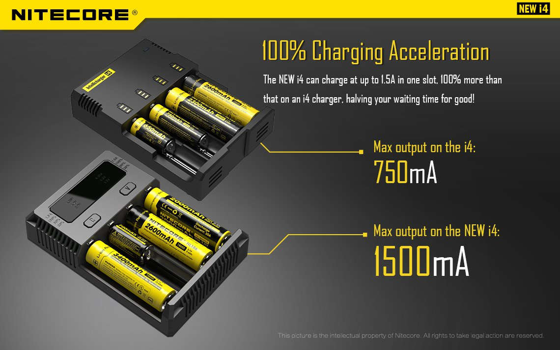 nitecore-intellicharger-i4-battery-charger
