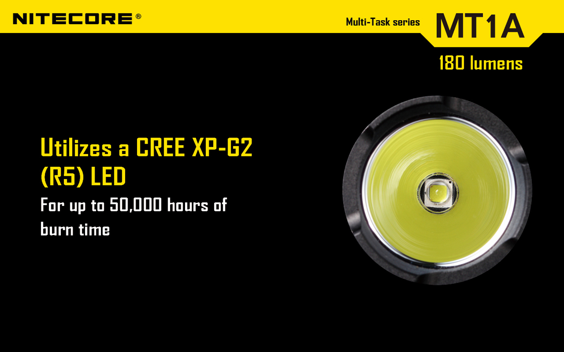 Nitecore MT1A 140 Lumen Flashlight