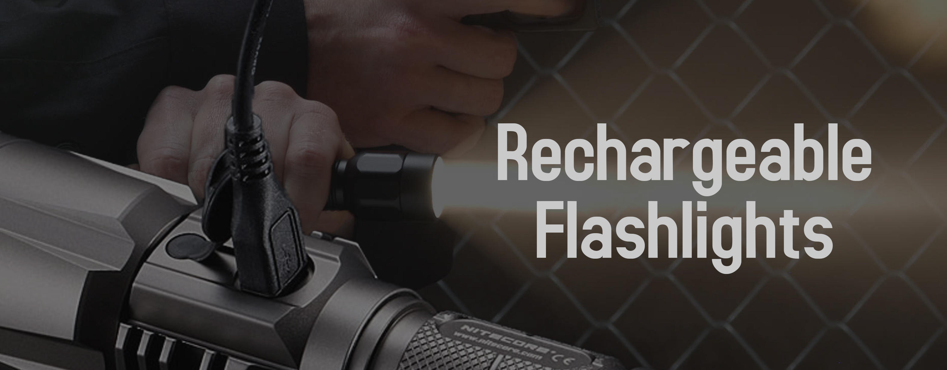Rechargeable fFlashlights