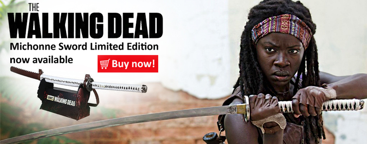 the walking dead michone sword