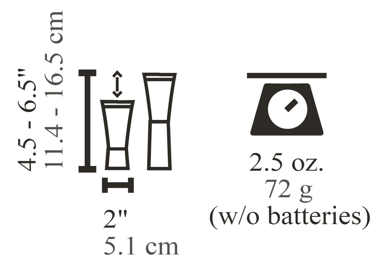 Uco Clarus 2 118 Lumen Led Lantern And Flashlight