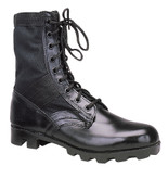 "Rothco GI Style Jungle Boot 8"" Black Size 11"