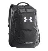 Under Armour Hustle Storm Backpack (1238440) is a versatile, all-weather gear made from a highly water-resistant fabric coated with DWR (Durable Water Repellent) finish that repels rain and snow.