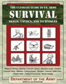 """US Army Survival Skills, Tactics & Techniques (BK161) Everything you will ever need to know in order to survive. Includes techniques on first aid; survival in the hottest or coldest of climates; finding or building life-saving shelters; surviving nuclear, biological, and chemical attacks; physical and mental fitness, and how to find food and water anywhere, anytime. Softcover.  8 1/4"""" X 11"""""""