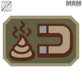 Mil-Spec Monkey Shit Magnet Patch