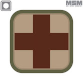 Mil-Spec Monkey Medic Square 2inch PVC Patch