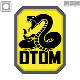 Mil-Spec Monkey DTOM PVC Patch
