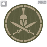 Mil-Spec Monkey Spartan Helmet PVC Patch