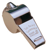 Acme Thunderer Polished Nickel Police Whistle
