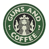 Tru-Spec Guns and Coffee Morale Patch
