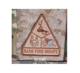 Mil-Spec Monkey Basic Food Groups Patch Desert
