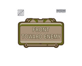 Mil-Spec Monkey Front Toward Enemy Patch