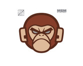 Mil-Spec Monkey Monkey Head Logo Patch