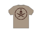 Mil-Spec Monkey Spartan T-shirt Dusty Brown XXL