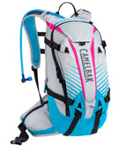 CamelBak KUDU 12 3L Hydration Pack with Impact Protection Silver / Atomic Blue