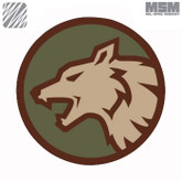 Mil-Spec Monkey Wolf Head Patch