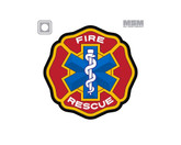Mil-Spec Monkey Fire Rescue PVC Patch