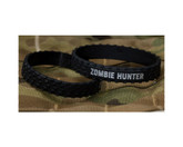 Mil Spec Monkey Zombie Hunter Band Black Silver Text