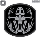Mil Spec Monkey Frog Skeleton Patch