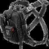 Hazard 4 Covert Escape RG Flashlight Cycling Camera Chest Pack Black