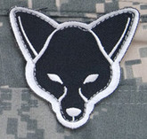 Mil-Spec Monkey Fox Head Patch Swat-A