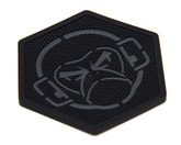 Mil-Spec Monkey MSM Logo Coaster Black