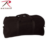 Rothco Canvas Tanker Style Tool Bag Black