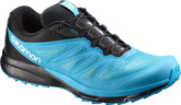 Salomon Men's Sense Pro 2 Light Trail Running Shoes Scuba Blue / Black  / White  Size 8