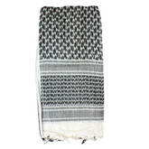 Red Rock Outdoor Gear Shemagh Head Wrap White / Black