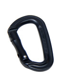 Mil Spec Monkey MSM Mini Mod-D Carabiner MKII Black Straight