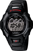 Casio Men's G-Shock Digital Tough Solar Power Atomic Timekeeping Black Watch