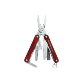 Leatherman Squirt PS4 Aluminum Handle Keychain Multi-Tool Red