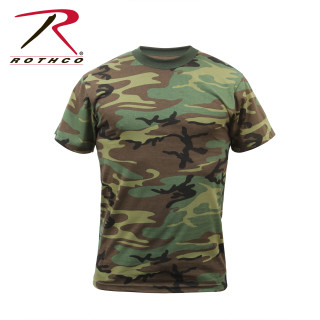 498abf0085e Rothco Camo T-Shirt Woodland Camo - Tactical Asia - Philippines
