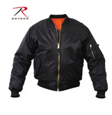 Rothco MA-1 Flight Jacket Black