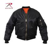 Rothco MA-1 Flight Jacket Black
