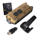 Nitecore Tip Luxury Gift Set 360 Lumens Rechargeable Keychain Light
