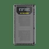 Nitecore UGP5 Dual Slot Digital Charger for GoPro5