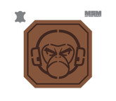 Mil Spec Monkey Monkey Head 2inch Square Leather Brown
