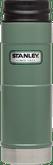 Stanley Classic One Hand Vacuum Mug 16 oz Hammertone Green