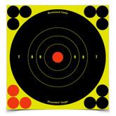 Birchwood Casey Shoot.N.C 6 inch Bull's-Eye 60 Targets 720 Pasters