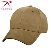 Rothco Supreme Solid Color Low Profile Cap Coyote Brown