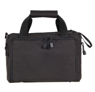 5.11 Tactical Range Qualifier Bag Black quick and compact tote designed to transport your firearm and ammunition