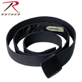 "Rothco 54"" Travel Web Belt Wallet Black"
