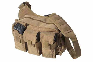 5.11 Tactical Bail Out Bag ,  made with tough 1050D nylon body fabric construction Originally designed for the Active Shooters Response Team