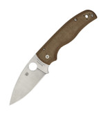 Spyderco Shaman CPM CRU-Wear Micarta Sprint Run Folding Knife