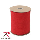 Rothco Nylon Paracord 550lb 1000 Ft Spool Red