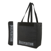 Maxpedition Roll Up Tote with 2 Maxpedition Logos Black