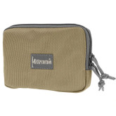 "Maxpedition Hook & Loop 5"" x 7"" Zipper Pocket Khaki-Foliage"